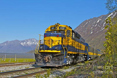 Train Tracks Photograph - Tourists by Rick  Monyahan