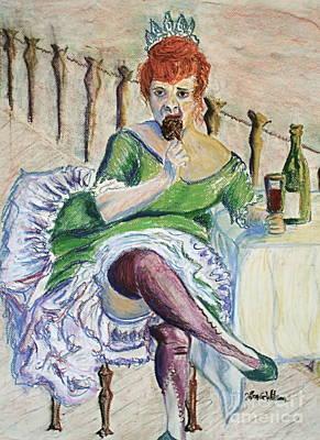 Paris Painting - Tous Les Soirs by D Renee Wilson