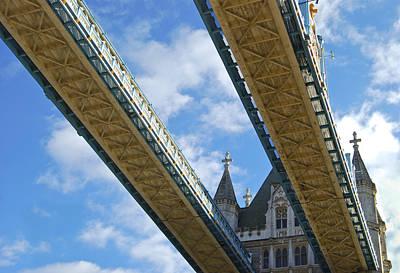 Tower Bridge Print by Christi Kraft