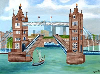 Tower Bridge London Print by Magdalena Frohnsdorff