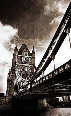 Tower Bridge Print by Mark Rogan