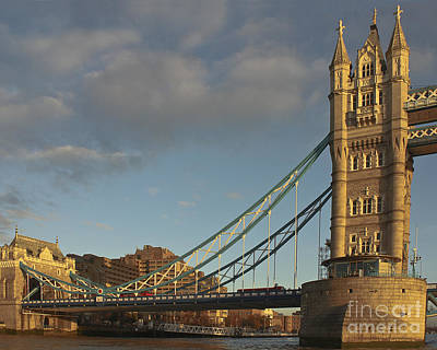 London Photograph - Tower Bridge North Bank by Terri Waters