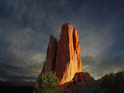 Babel Photograph - Tower Of Babel At Sunset by John Hoffman