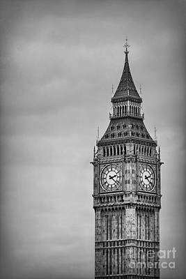 Big Ben Photograph - Tower Of Power by Evelina Kremsdorf