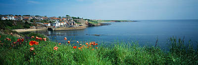 Town At The Waterfront, Crail, Fife Print by Panoramic Images