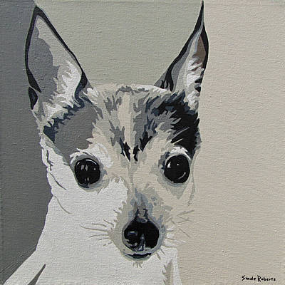 Painting - Toy Fox Terrier by Slade Roberts