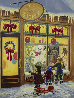 Toy Shoppe Print by Roger Witmer