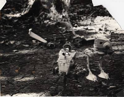 Return Of The Jedi Photograph - Toys by Todd Cutter