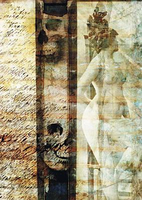 Victorian Death Digital Art - Traces 05 by Mark Preston