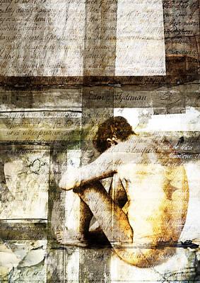 Victorian Death Digital Art - Traces 09 by Mark Preston