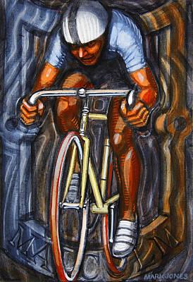 Track Racer  Print by Mark Howard Jones