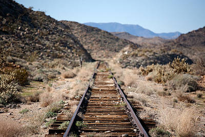 Train Tracks Photograph - Tracks To Nowhere by Peter Tellone