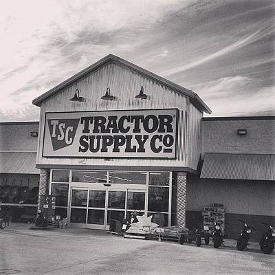Rural Scenes Photograph - Tractor Supply Store by Kay Pickens