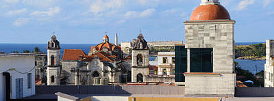 Rooftop Photograph - Traditional Buildings Of Havana, Cuba by Panoramic Images