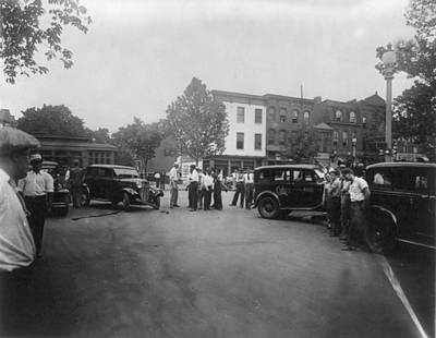 Washington Dc Street Scene Photograph - Traffic Accident At 14th And Q Streets by Everett