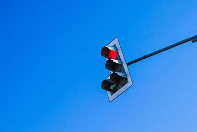 Traffic Light - Featured 3 Print by Alexander Senin
