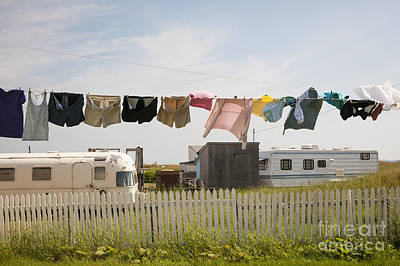 East Coast Photograph - Trailers In North Rustico by Elena Elisseeva