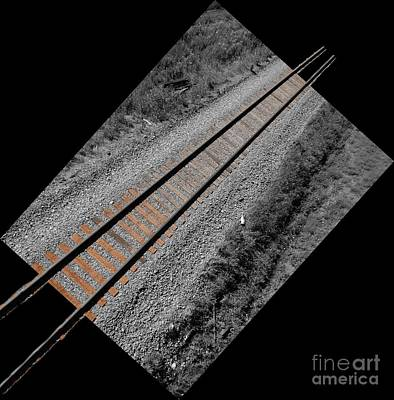 Train Bound For Nowhere Print by Al Bourassa