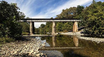 David E Lester Photograph - Train Crossing by David Lester