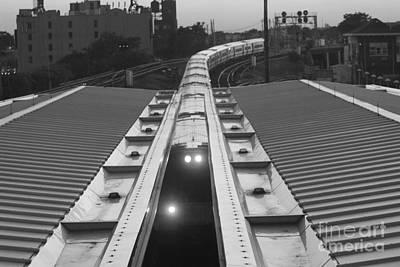 Telfer Photograph - Train Keeps On Rollin by John Telfer