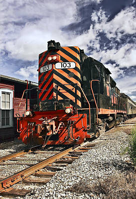 Train Photograph - Train by Marcia Colelli