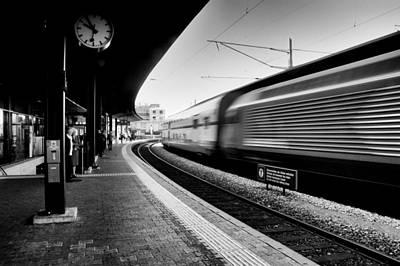 Train Station In Motion Original by Juan Torrero