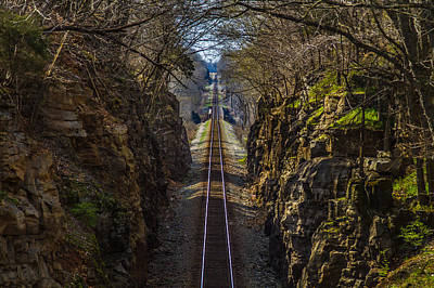 Train Tracks Photo Print by Rick McKee