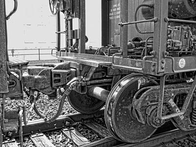 Brakeman Photograph - Train Yoke And Knuckle Coupling by Daniel Hagerman