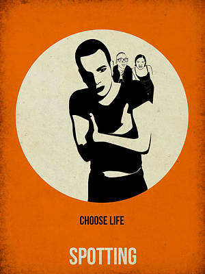 Famous Digital Art - Trainspotting Poster by Naxart Studio
