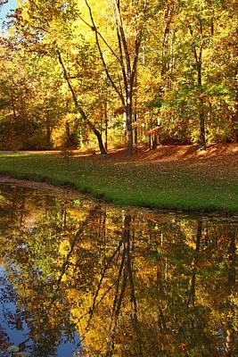 Tranquil Autumn Print by Kim Hojnacki