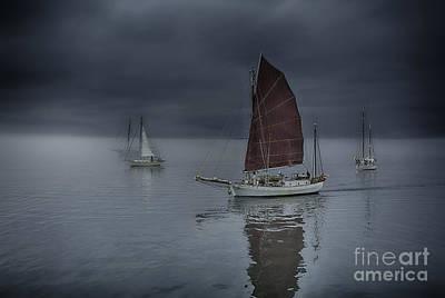 Whidbey Island Wa Photograph - Tranquil Sailing by Whidbey Island Photography