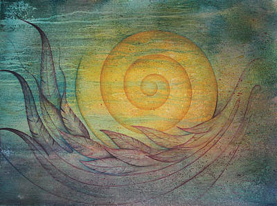 Metaphysical Painting - Tranquility by Ellen Starr