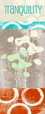 Tranquility Print by Linda Woods