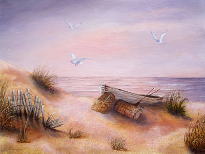 Painting - Tranquility by Roseann Gilmore
