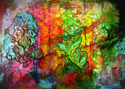 Mosaic Mixed Media - Transformation by Bellesouth Studio