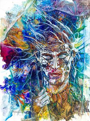 Transformation- Breaking Through Print by Patricia Allingham Carlson