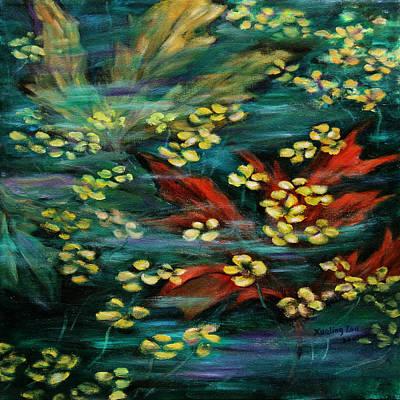 Maple Season Painting - Transforming... by Xueling Zou