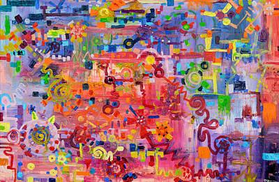 Transition To Chaos Original by Regina Valluzzi