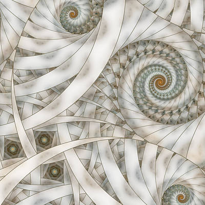 Apo Digital Art - Translucency by Claire Jones