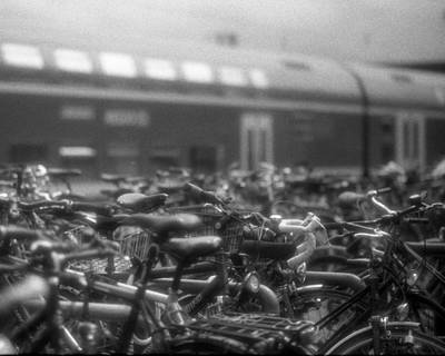 Black And White Photograph - Transport by Marcio Faustino