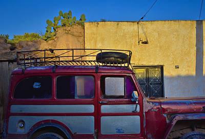 Skiphunt Photograph - Transportes Del Desierto by Skip Hunt