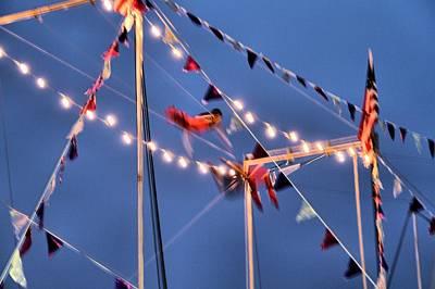 Trapeze Artist Photograph - Trapeze Blur by Dan Sproul