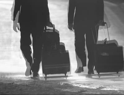 Men Shoe Photograph - Travel by Dan Sproul