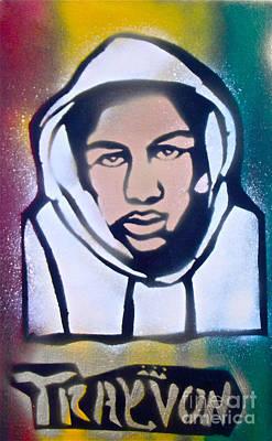 Moral Painting - Trayvon Rasta by Tony B Conscious