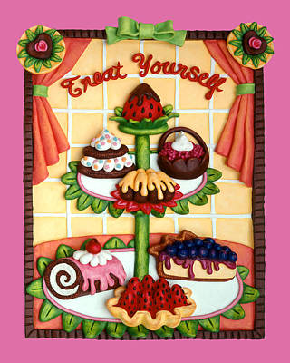Treat Yourself Original by Amy Vangsgard