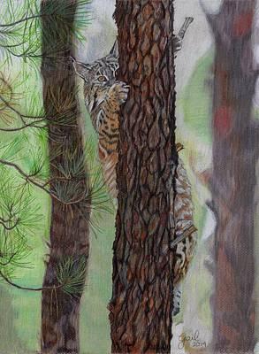 Tree Hugger Print by Gail Seufferlein