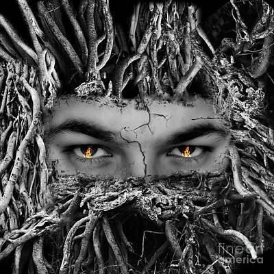 Halloween Photograph - Tree Man by Image World