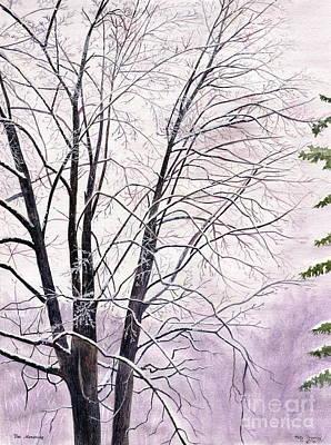 Tree Memories Print by Melly Terpening