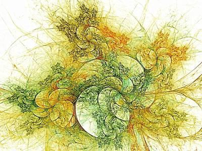 Windblown Digital Art - Tree Of Bounty by Doug Morgan