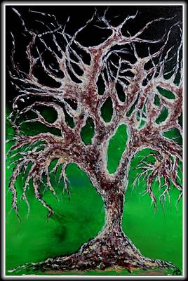 Tree Of Haunted Souls Print by Madison Frasier